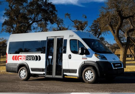 Citibus service vehicle