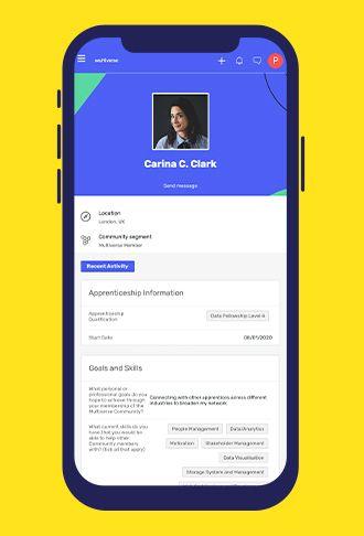 Screenshot of Multiverse Community Hub app