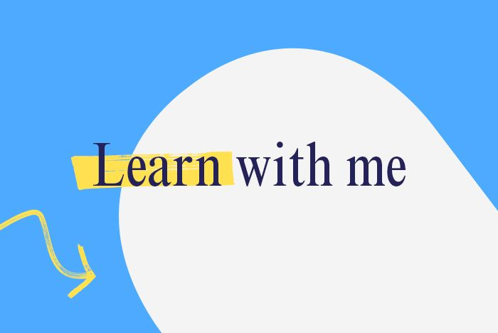 Learn With Me event imagery