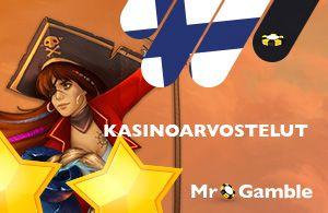 Mr Gamblen arvostelu kasinosta käy läpi kasinobonukset ja ilmaiskierrokset sekä uusille pelaajille että uskollisuusohjelmasta bonusehdot mukaan lukien.