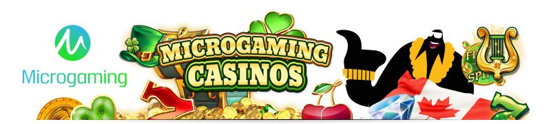 Microgaming casinos Canada