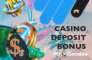 Casino deposit bonus is waiting for you to make your game even more fun: make a deposit, get extra money and improve your chances of winning.