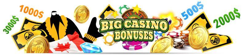 Highroller bonus Canada, get big casino bonus