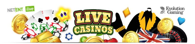 UK online casinos with live casino games