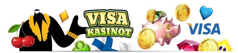 lista nettikasinot jotka hyväksyvät visa talletukset ja nostot kasinolta