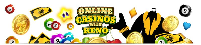 Online casinos are the best place to play Keno for real money and you can even find a bitcoin casino Keno from the large selection of Keno casinos.
