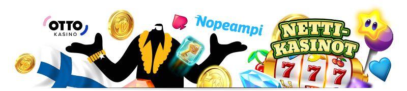 Nettikasino on suosittu pelipaikka joka tarjoaa kasinopelit netissä. Löydä paras kotimainen netticasino ja kasinobonukset suomalaisille alle minuutissa