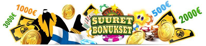 isoimmat kasinobonukset, pelaa highroller bonuksella