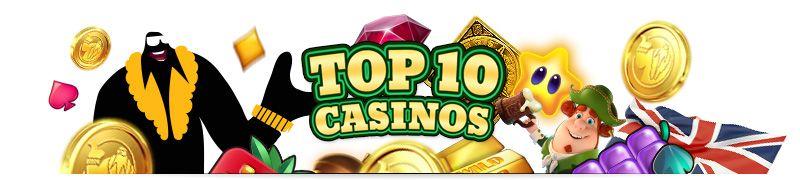 Top-10 UK online casinos
