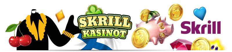 Skrill on nettilompakko joka tarjoaa nopeat kotiutukset kasinolta ja talletukset kasinolle