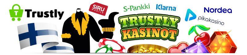 Trustly tarjoaa mahdollisuuden pelata kasinolla ilman rekisteröitymistä ja se tukee suosituimpia suomalaisia pankkeja