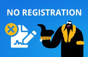 If you are looking for a no registration casino you can join quick to play casino games and make fast withdrawals you should check our casino comparison list.