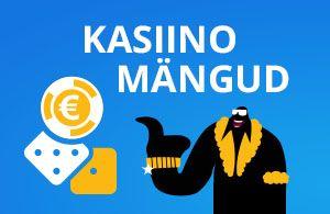 Parimad kasiinomängud Eesti veebikasiinodes
