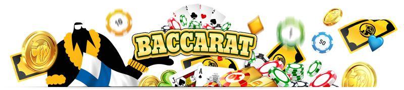 Baccarat netissä, kasinoita ja pelejä joita pelata