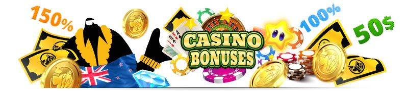 Find Massive Online Casino Sign Up Bonuses to Play at the Best New Zealand Casino Sites