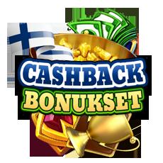 cashback bonukset ovat yleisiä bonuksia kasinolla jotka toimivat ilman tiliä