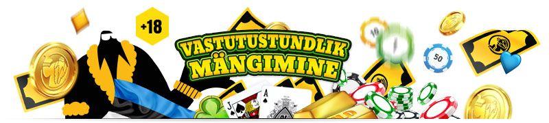 Vastutustundlik mängimine Eesti kasiinodes