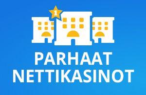 Kaikki parhaat nettikasinot ja parhaat bonukset suomalaisille pelaajille listattuna käyttöehtoja ja pelaajien kokemuksia unohtamatta.