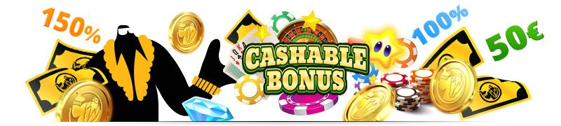 Find your next online casino no deposit cashable bonus from our bonus comparison list and play casino games free of charge without hidden T's and C's.