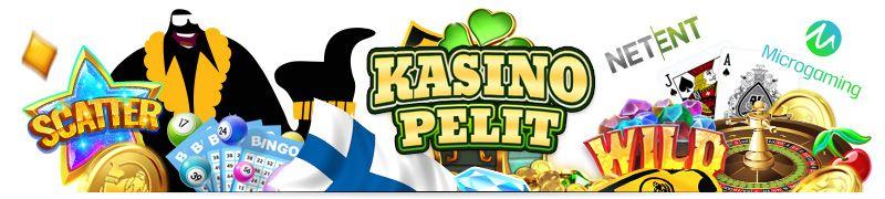 erillaiset kasinopelit kuten slotit, kolikkopelit, hedelmäpelit, blackjack, ruletti ovat todella suosittuja