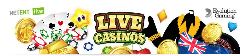 Online Casinos with Live Casinos