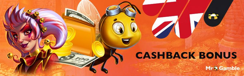 Do you want to enjoy a nice cashback bonus? Get your loyalty or promotion based cashback casino offer straight away.