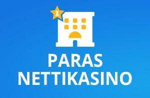 Paras nettikasino on luotettava ja turvallinen pelipaikka josta suomalaiset pelaajat löytävät kaikki parhaat kasinopelit ja maksutavat sekä kasinobonukset