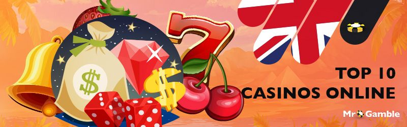 Mr Gamble presents the Top 10 online casino list. Find out what makes the top 10 UK online casinos so good. Set your filters to find your top casino.