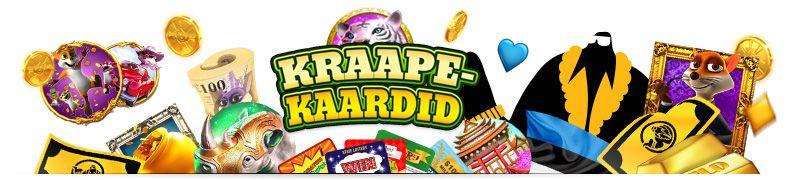 kraapekaardid online kasiinod eesti