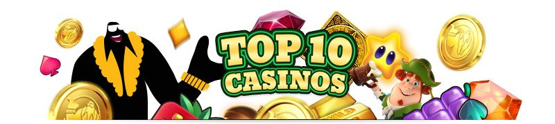 Top 10 list of the best casinos for your own purpose. Do you like free spins or bonus money? Perhaps you're after no deposit bonuses? Set your own filters.