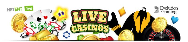 Online Casinos with live casino