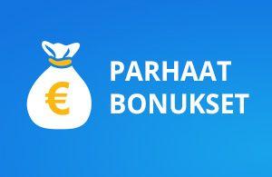 parhaat bonukset suomalaisille pelaajille