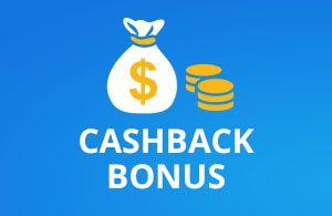 The cashback bonus promotion