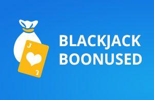 blackjack boonused live kasiinode