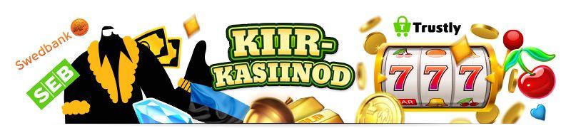 Kiirkasiinod on uut tüüpi Trustly Pay N Play lahendusega online kasiinod
