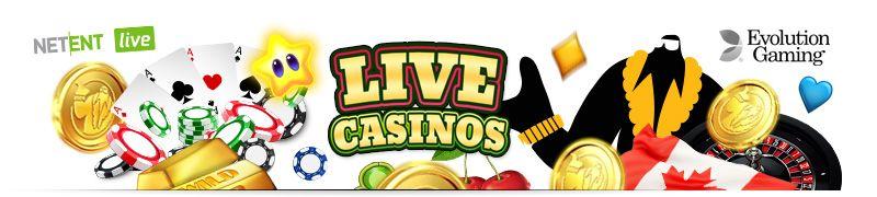 Canadian casinos with live casinos
