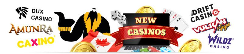 Find a new online casino and compare it with the best in the industry. Find the best new online casino no deposit bonus at Canadian sites.