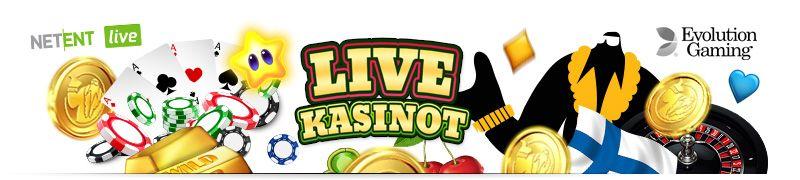 Kaikki turvalliset live kasinot sekä bonukset listattuna jotta löytäisit parhaat live kasinot sekä pelit netissä helposti ja nopeasti.