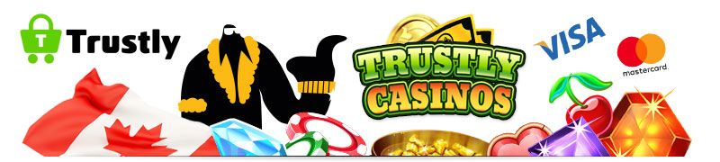 Finally, Trustly casinos are available in Canada. Find casinos that accept Trustly here, and learn why this is probably the easiest payment method today