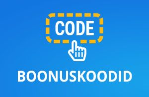 Kasiino boonuskoodid Eesti online kasiinodes