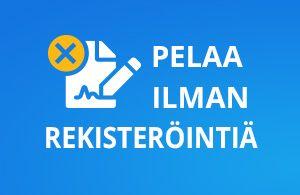 Pikakasinot tarjoavat pankkitunnistautumisen jonka ansiosta suomalainen pelaa ilman rekisteröintiä ja voi tallettaa ja saada bonukset liittyessä nettikasinolle
