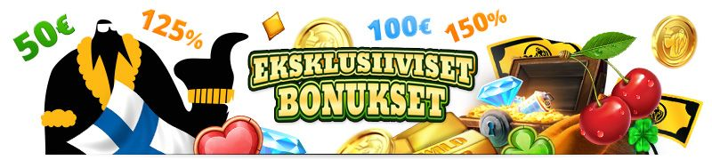 eksklusiivisia bonuksia kasinolle mr gamble sivustolta