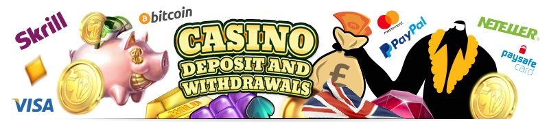 Online Casino safe, fast deposits and withdrawals