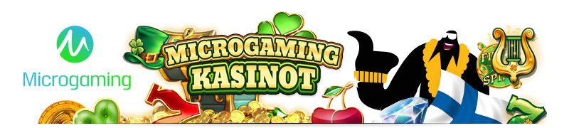 Microgaming kasinot ovat todella suosittuja suomalaisten pelaajien keskuudessa