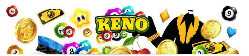 Keno on maapealne kasiino loterii mäng. Seda mängitakse kas video keno või live-vormingu