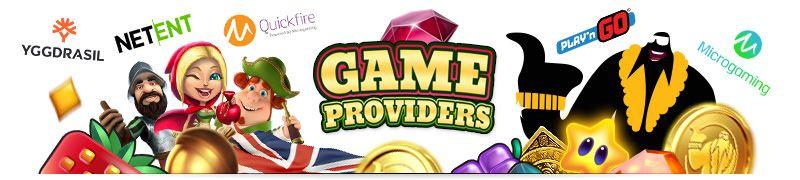 UK Online casino game providers
