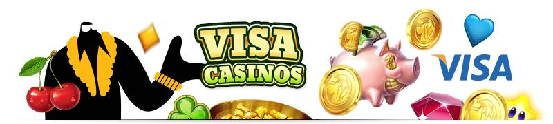 Visa casinos let you make secure deposits and withdrawals with the credit, debit, and prepaid cards in your account