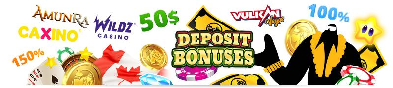 get 100% or 200% deposit bonus