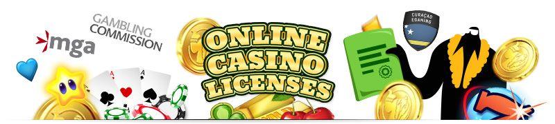 The types of online casino licenses: Curacao, UK, Malta, Kahnawake, Gibraltar