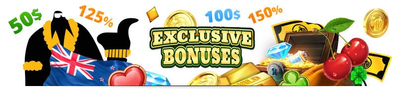 Best Exclusive Casino Bonuses New Zealand